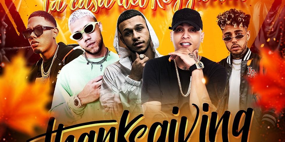 "Energia Friday's ""FAMOUS"" Reggaeton Party Pre-Thanksgiving Bash"