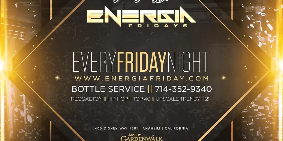Energia Friday's Party Reggaeton Party