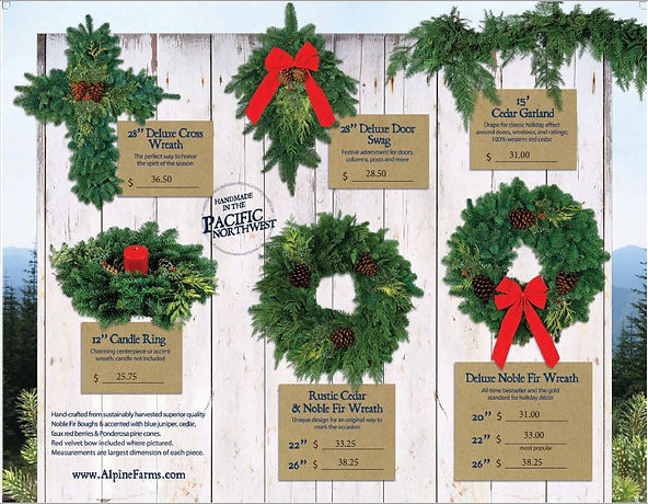 Youth Christmas Wreath Brochure