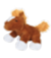 chestnut horse stuffed animal