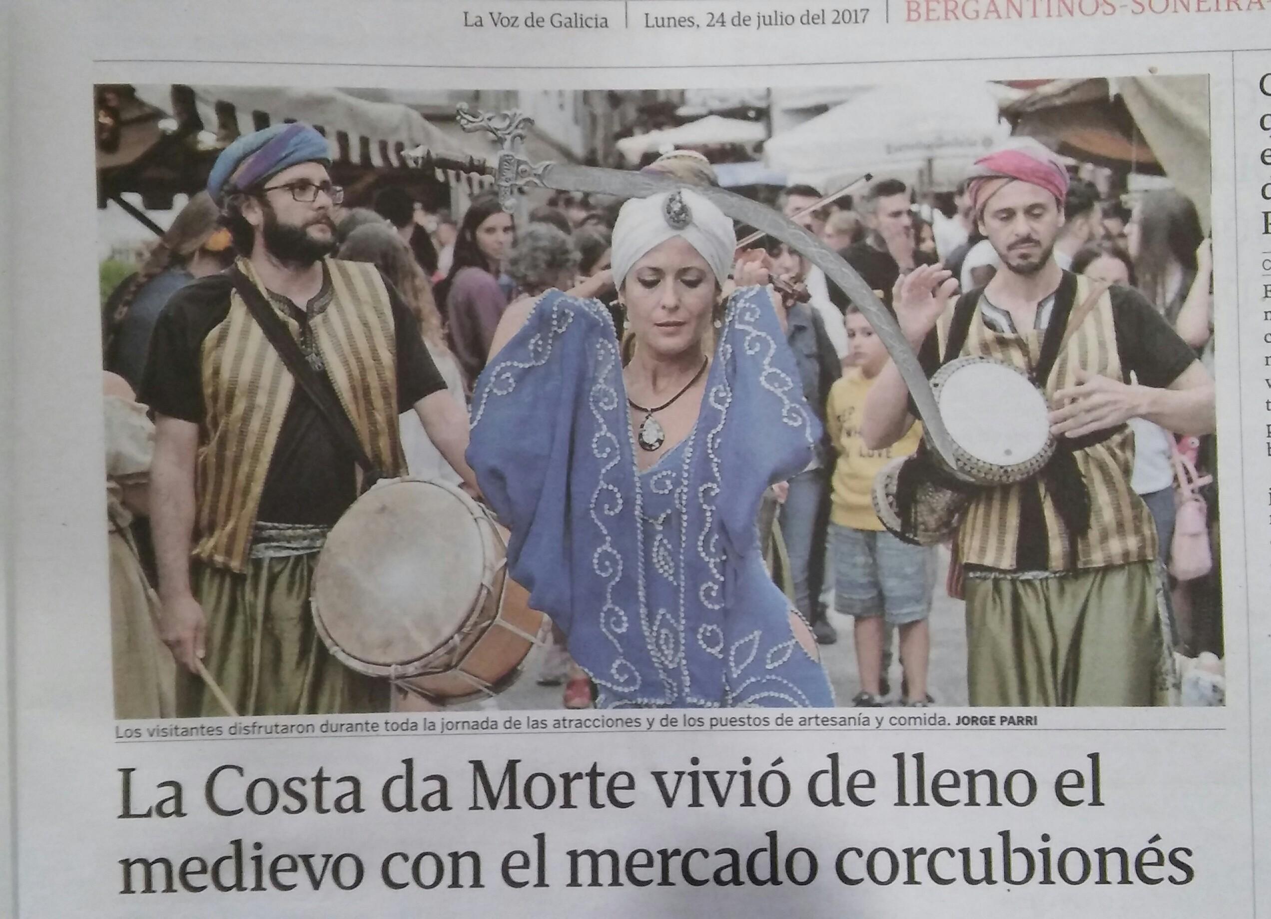 mercado Medieval Corcubión 17