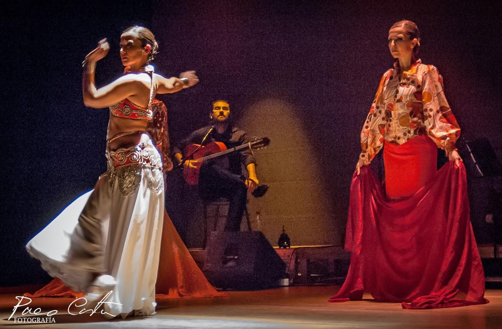 Fusión Oriental flamenco Mercedes Ca