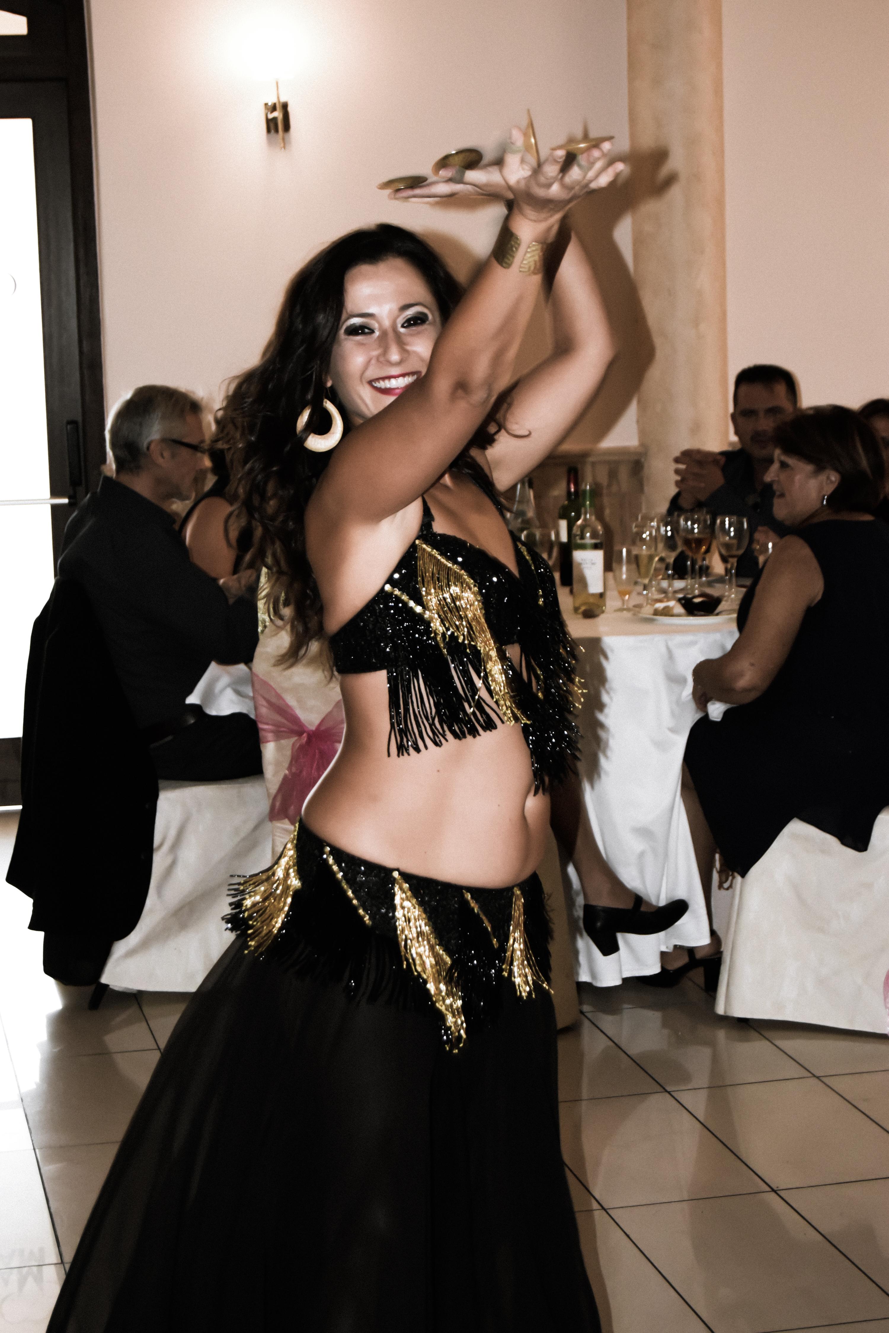 Danza Oriental  espectáculos Bodas