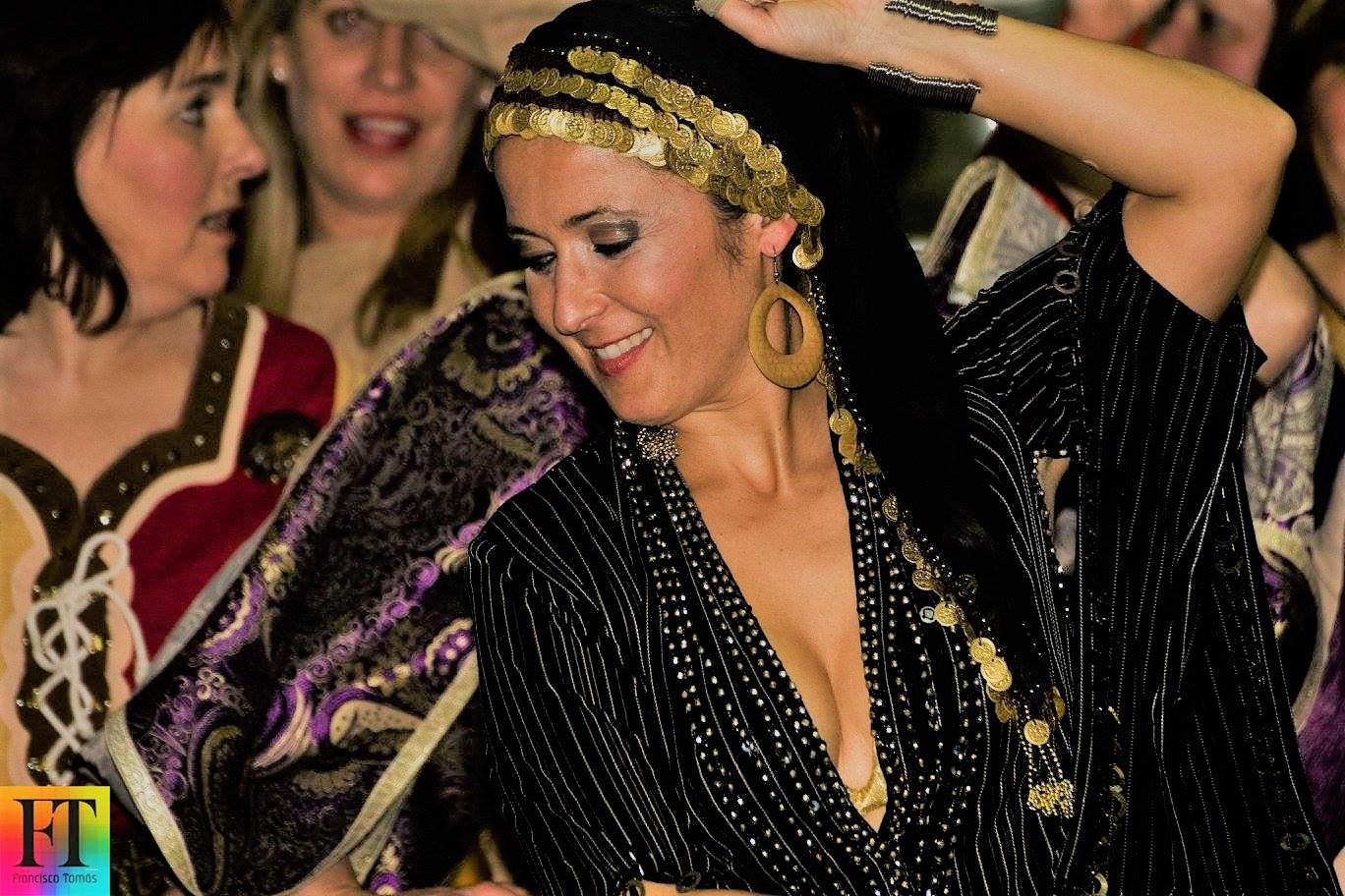 Danza Oriental en fiestas temáticas