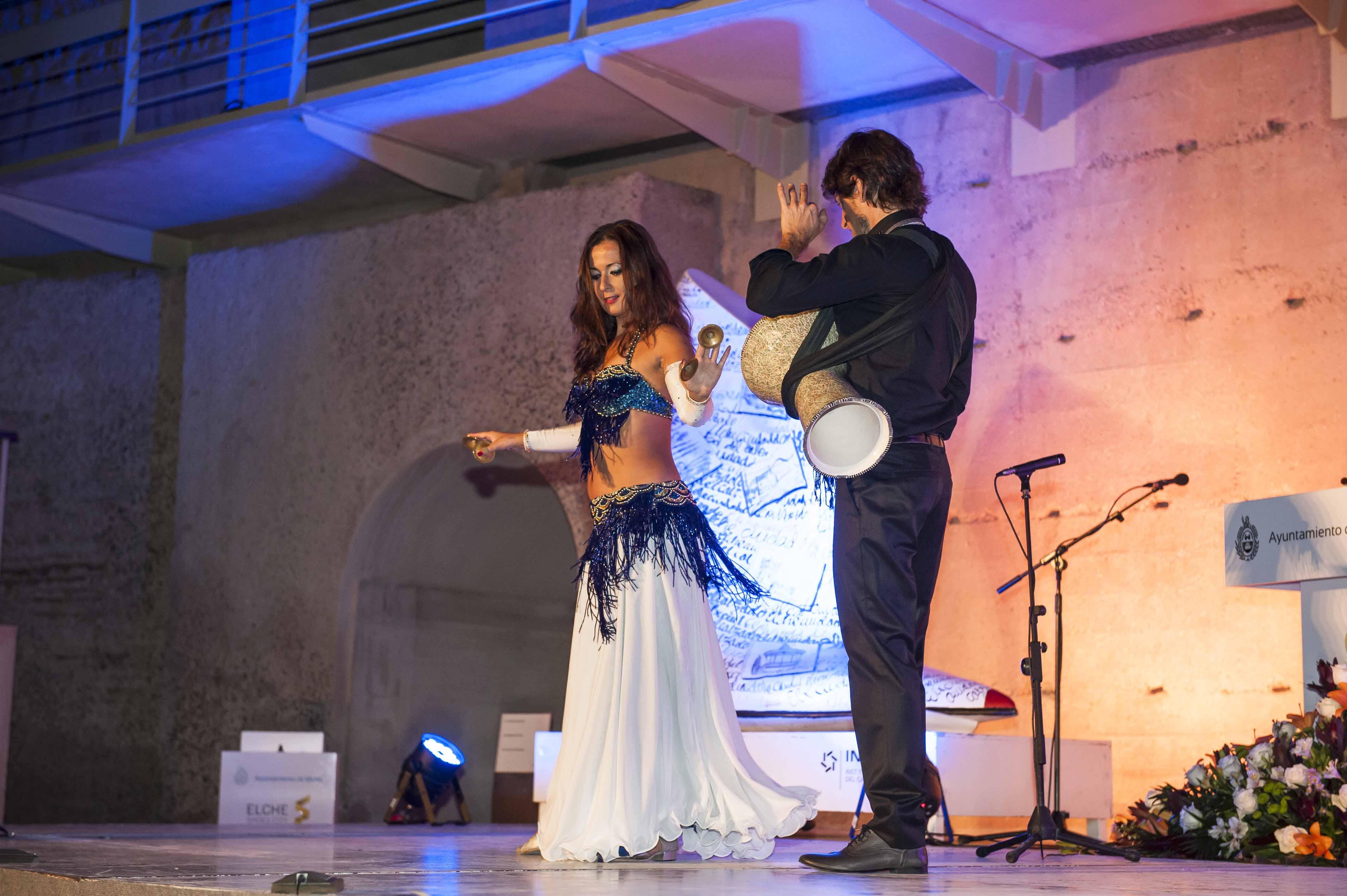 Mercedes Campello danza oriental