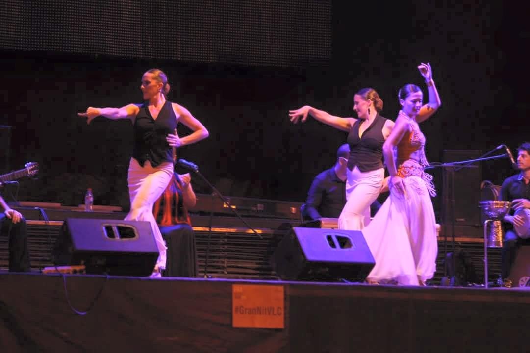 Espectáculo oriental flamenco