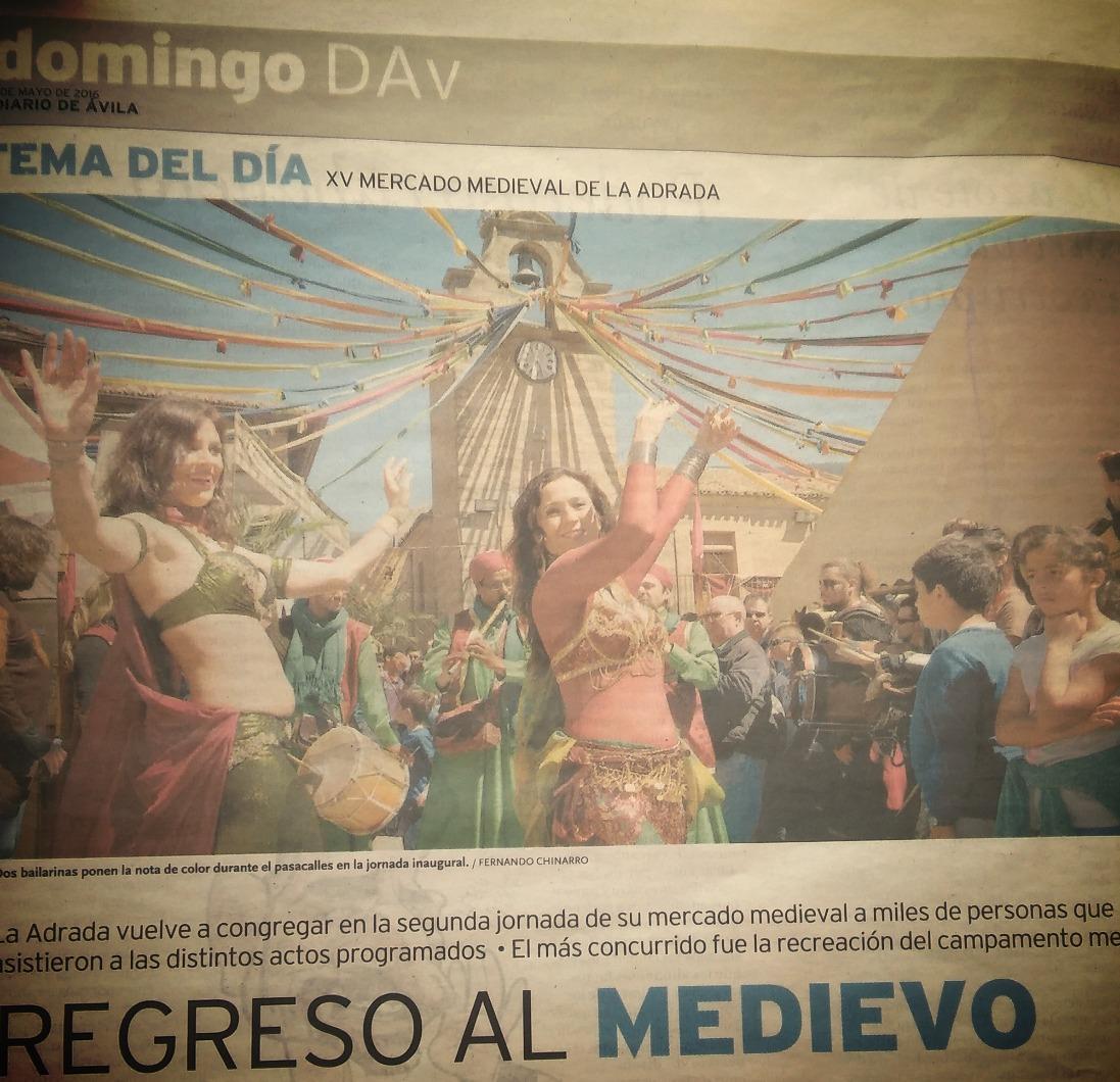 Mercado Medieval LA ADRADA  16 Avila