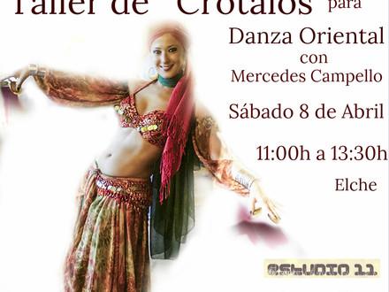 Talle de Crótalos  Danza Oriental
