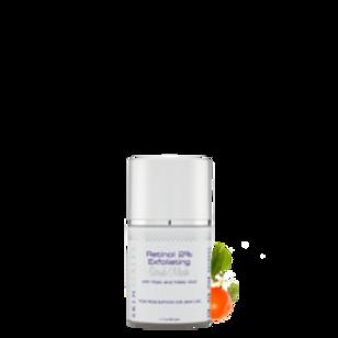 Skin Scripts Retinol 2% Exfoliating Scrub/Mask 1.7oz