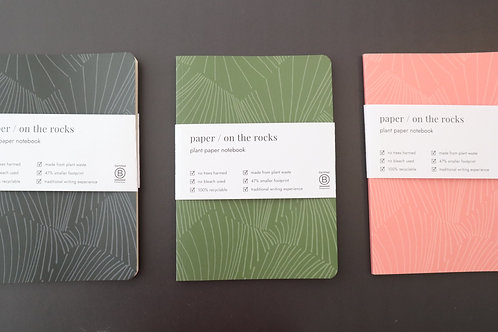 PAPER / ON THE ROCKS- PLANT PAPER SOFT COVER