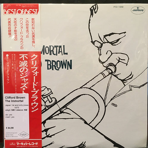 CLIFFORD BROWN • The Immortal