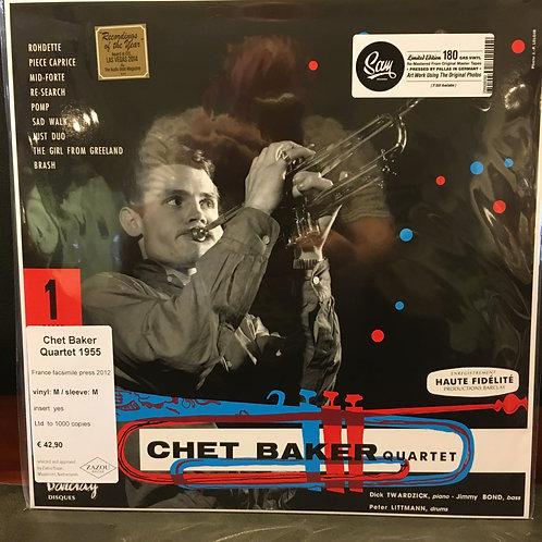 CHET BAKER QUARTET 1955