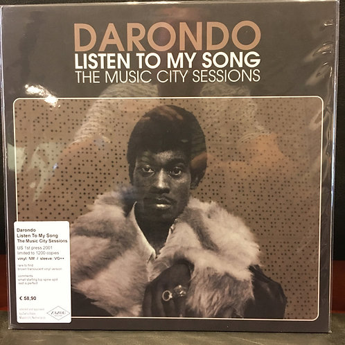 DARONDO • Listen To My Song