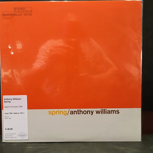 ANTHONY WILLIAMS • Spring