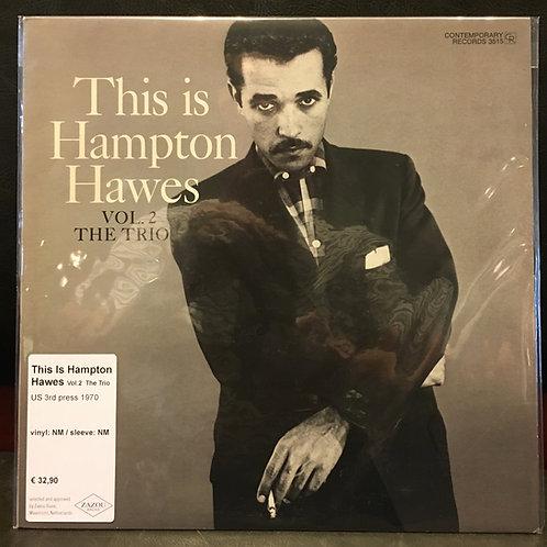 THIS IS HAMPTON HAWES Vol.2 The Trio