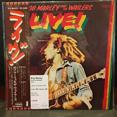 BOB MARLEY AND THE WAILERS • LIVE!
