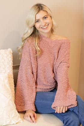Cozy Popcorn Sweater