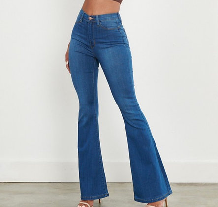 Stone Flare Jeans