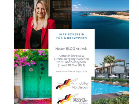 Aktuelle Einreise & Grenzübergang zwischen Nord- und Südzypern (Stand 10.Mai 2021)