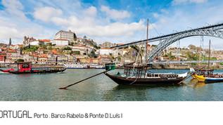 ref.ª 90 | Porto, Barco Rabelo & Ponte D. Luís I