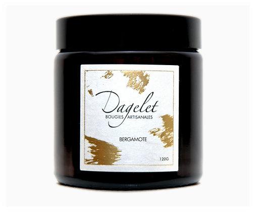 Bougie parfumée à la bergamote