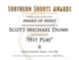 Scott Michael Dunn - Acting Award - Hit