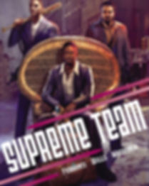 Seth Ferranti - Supreme Team Comics