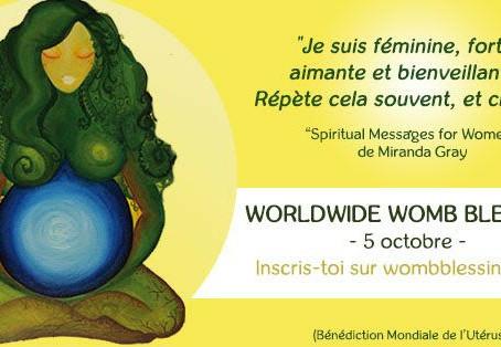 Bénédiction Mondiale de L'Utérus du 5 Octobre 2017