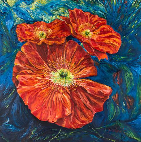 Pickmeup Poppies (Monet's Garden)
