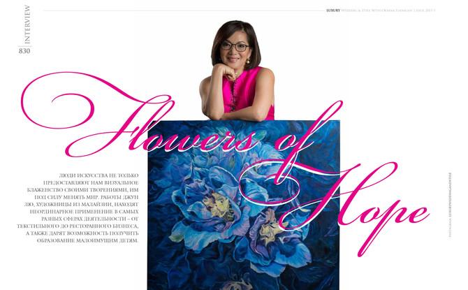 Exclusive Interview with Oksana Flanagan in Bali@TheRoyalPitaMaha