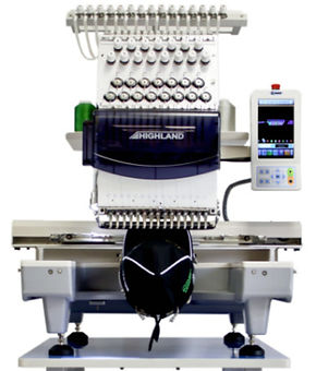 !2 color Embroidery Machine