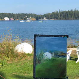 plein air in Maine