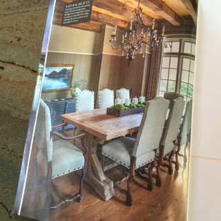 City Scope Magazine featured one of my paintings in a lovely home in Chattanooga.