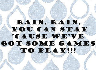 Games for the Monsoon Season
