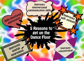 1,2,3,4 Get on the Dance floor!