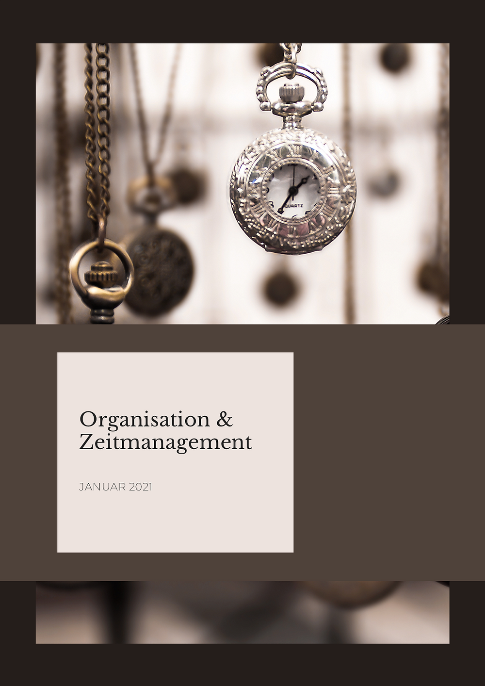 Organisation und Zeitmanagement