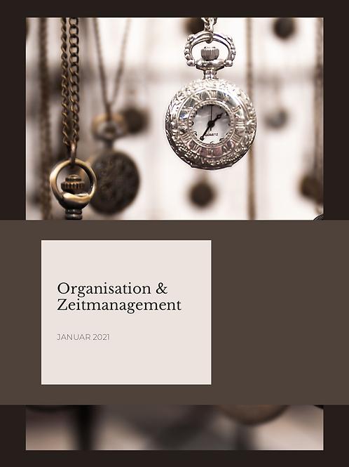 Organisation und Zeitmanangement