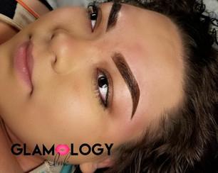 Powder Ombre Eyebrows