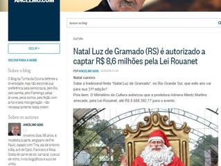 Natal Luz é notícia no O Globo