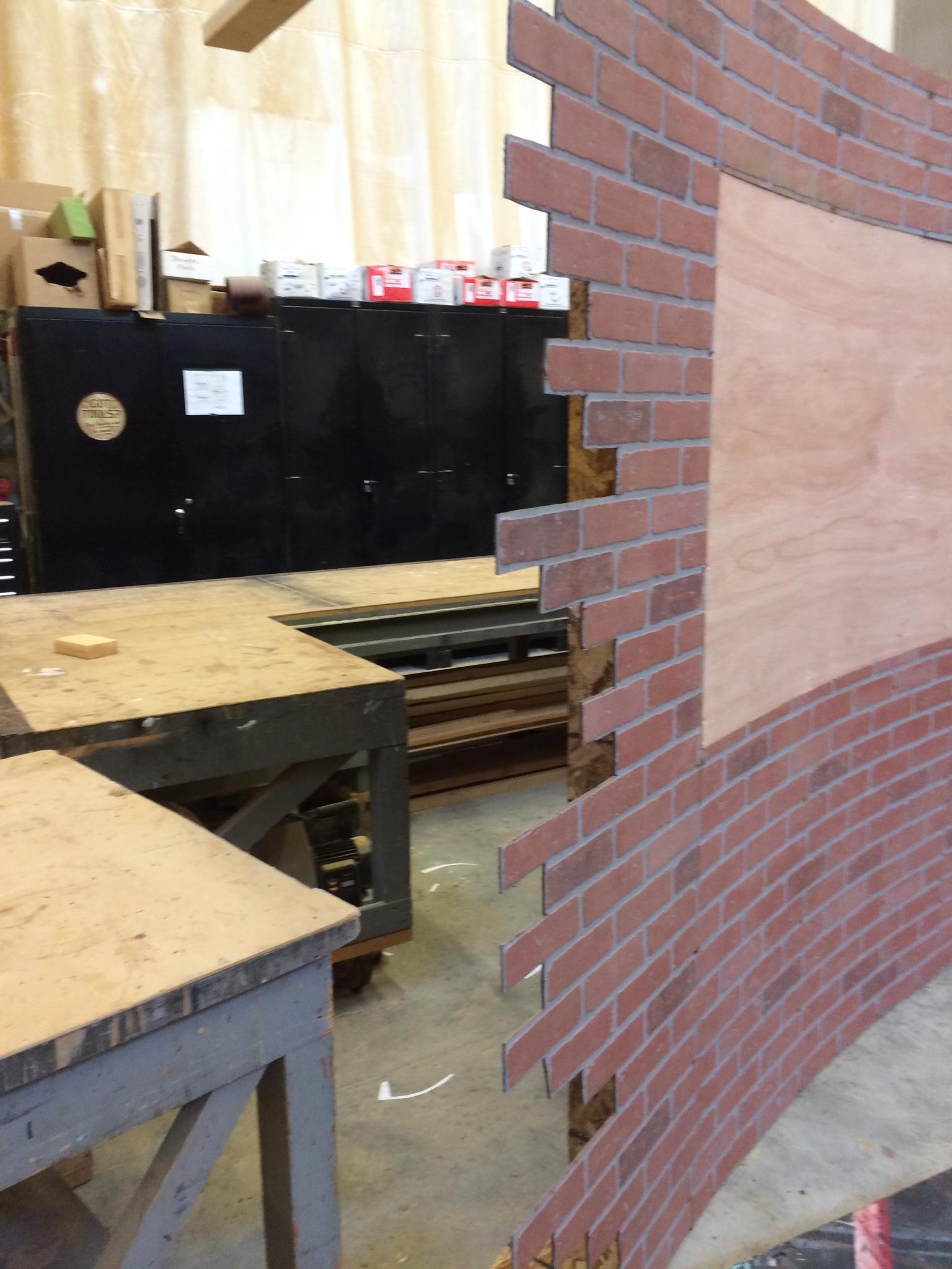 Lauan Facing & Brick Cutouts