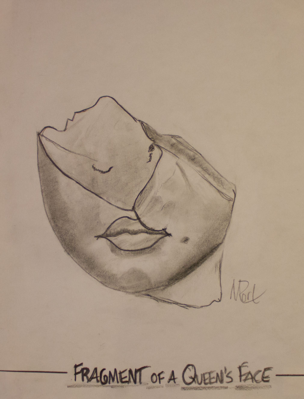 Fragments of a Queen's Head
