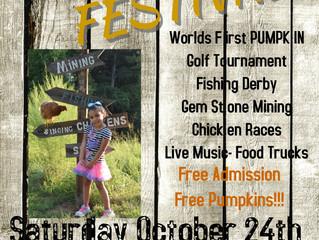 Worlds First Pumpkin Golf Tournament!!!