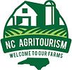 NC Agritourism logo - a barn on a hill.