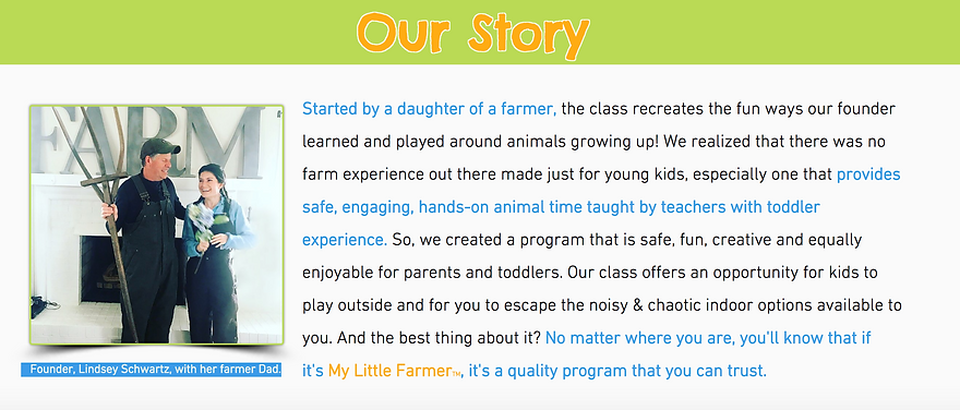 Activities for Toddlers | 1870 Farm | My Little Farmer