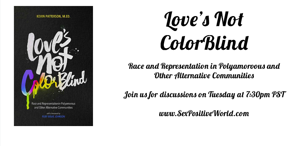 SPW Book Club - Love's Not Colorblind