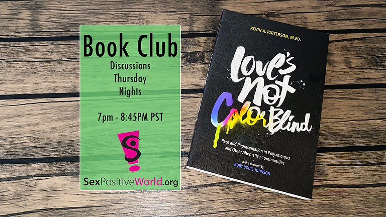 SPP/SPW Book Club - Love's Not Colorblind