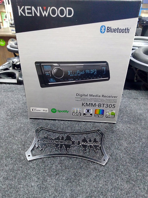 KENWOOD KMM-BT305, USB Магнитола 1 din