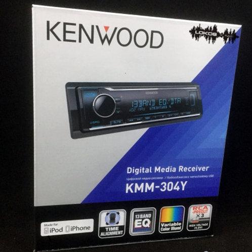 KENWOOD KMM-304Y, USB Магнитола 1 din