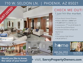 JUST LISTED! Prime North Central Phoenix