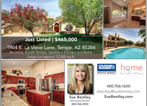 Just Listed! South Tempe Huge Lot -  No HOA!